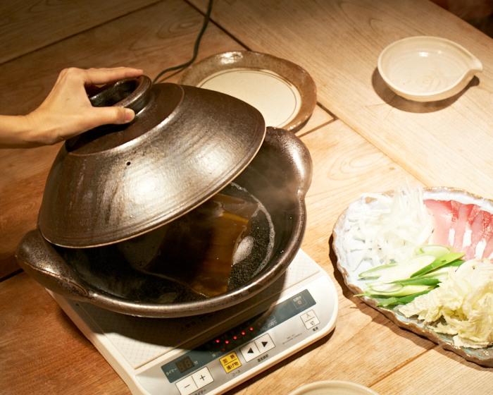 doppo IH調理器対応土鍋 ブリしゃぶ