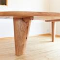 テーブル 鹿子(かご)の木