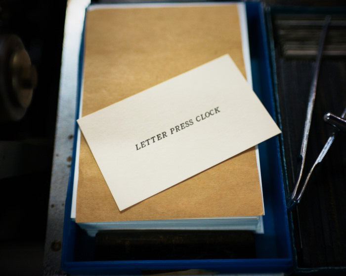 letter press clock 能登 二行和紙 活版印刷 DSC04559.jpg