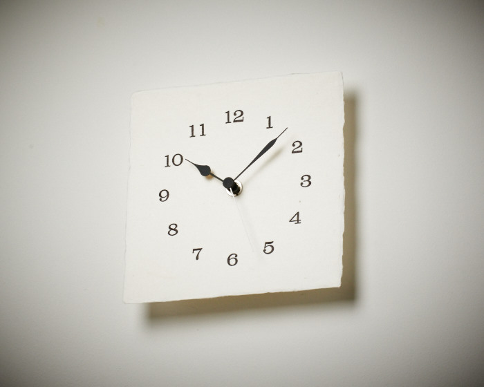 letter press clock 能登 二行和紙 活版印刷 DSC_2648.jpg