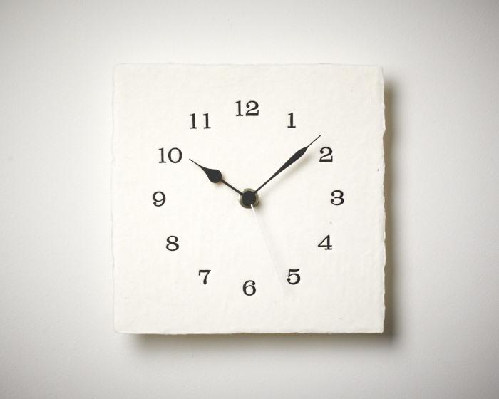 letter press clock 能登 二行和紙 活版印刷 DSC_2649.jpg